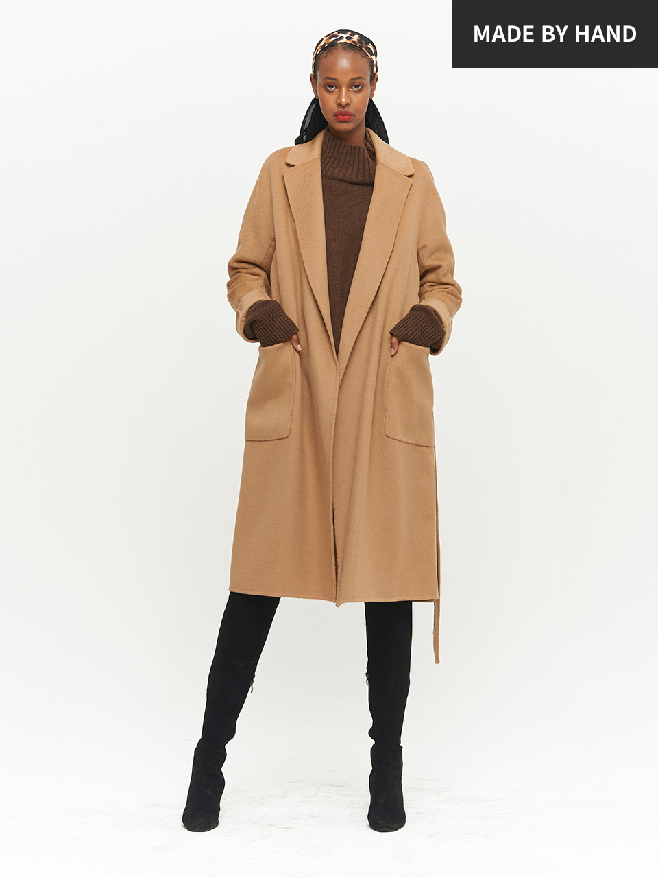ⓗ [PREMIUM] AUSTALIAN WOOL HANDMADE LONG COAT
